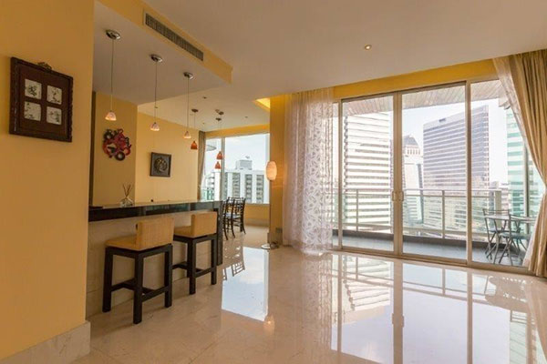 The Infinity Sathorn Condo Bangkok 2 Bedroom For